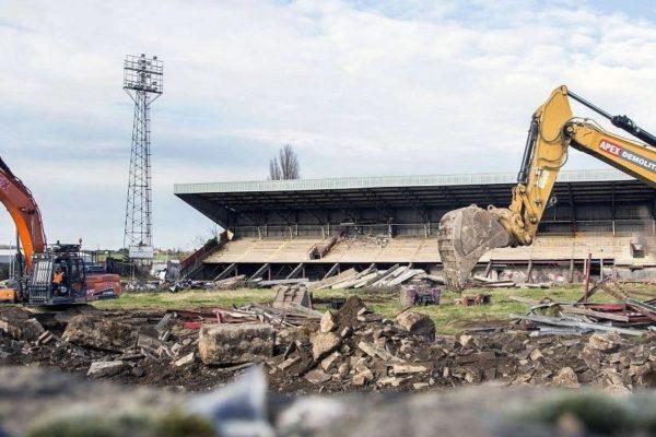 Staduim demolition